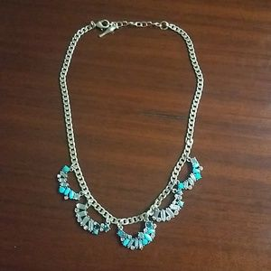 Chloe + Isabel Aquamarine Necklace